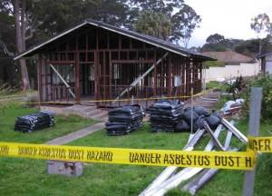 Photo overlooking one of CCS' Asbestos strip jobs