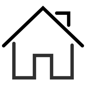 Roof Lining - House with pointy roof icon